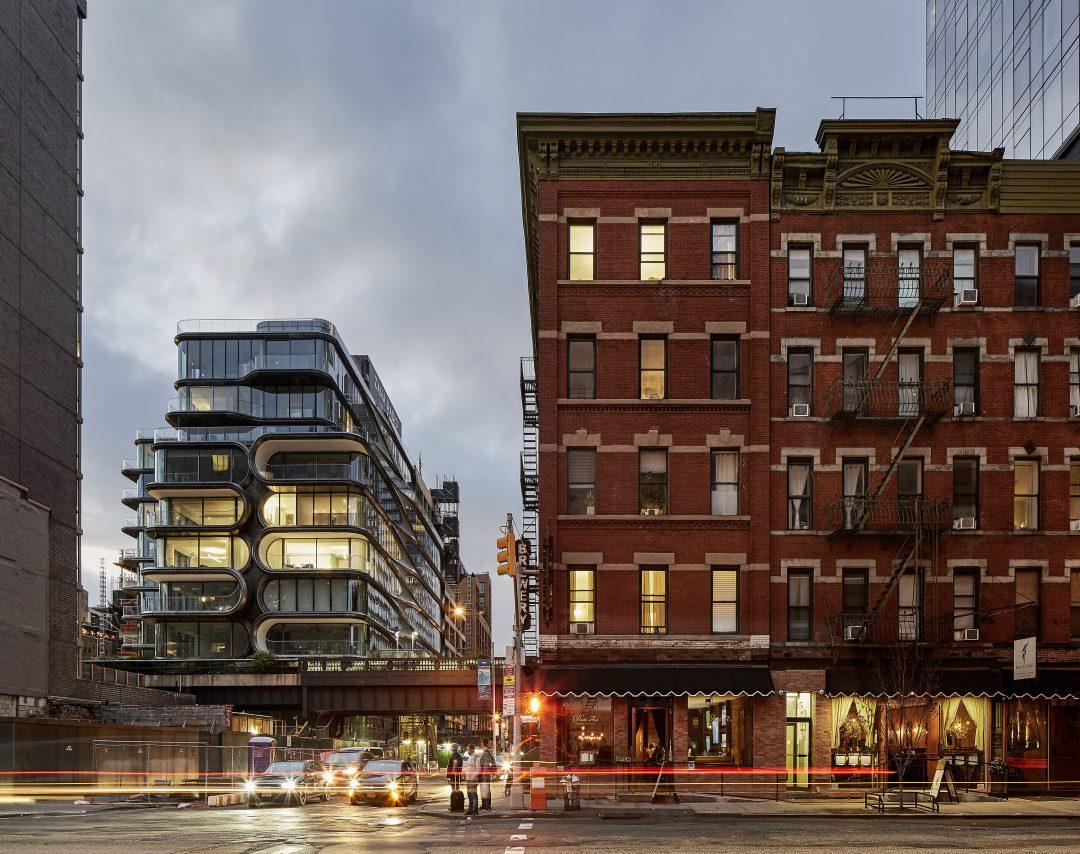 ZHA 520 W 28th Street by photographer Hufton+Crow