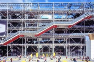 Pompidou Centre, inspired by the idea of Fun Palace