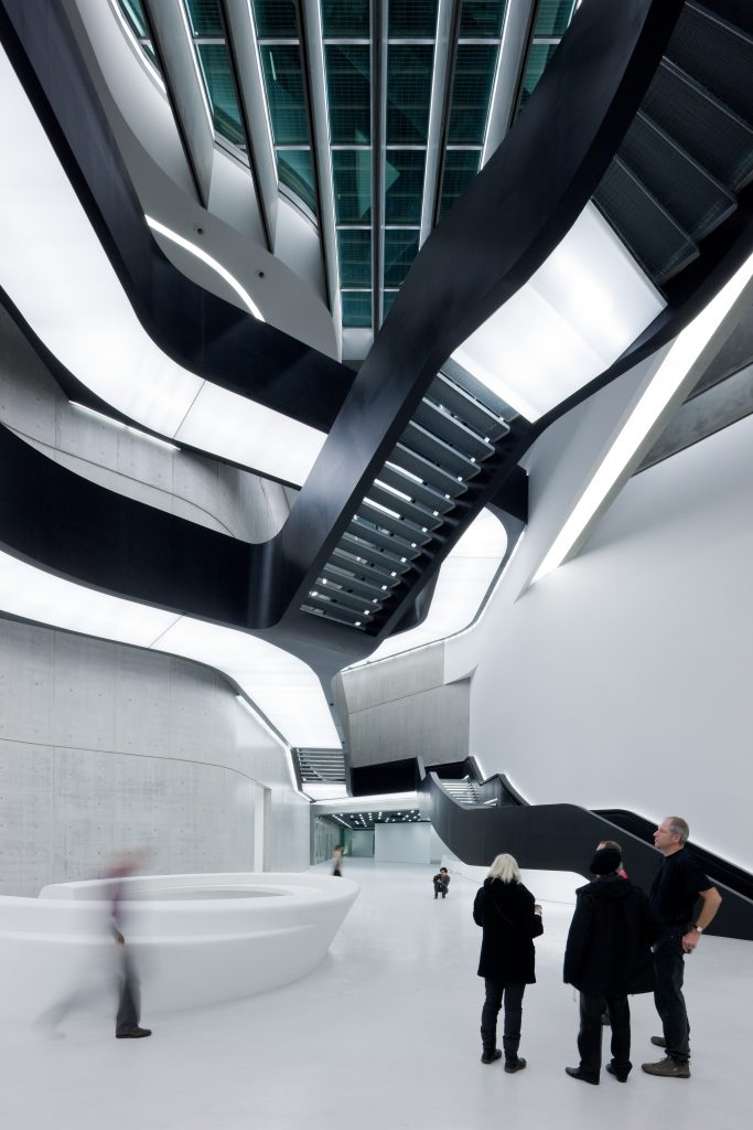 collaboration with Zaha Hadid Architects