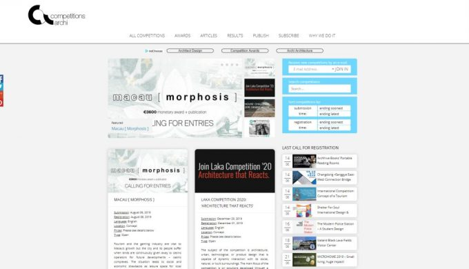competitions.archi top featured competition