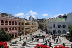 Cultural heritage path of Macau