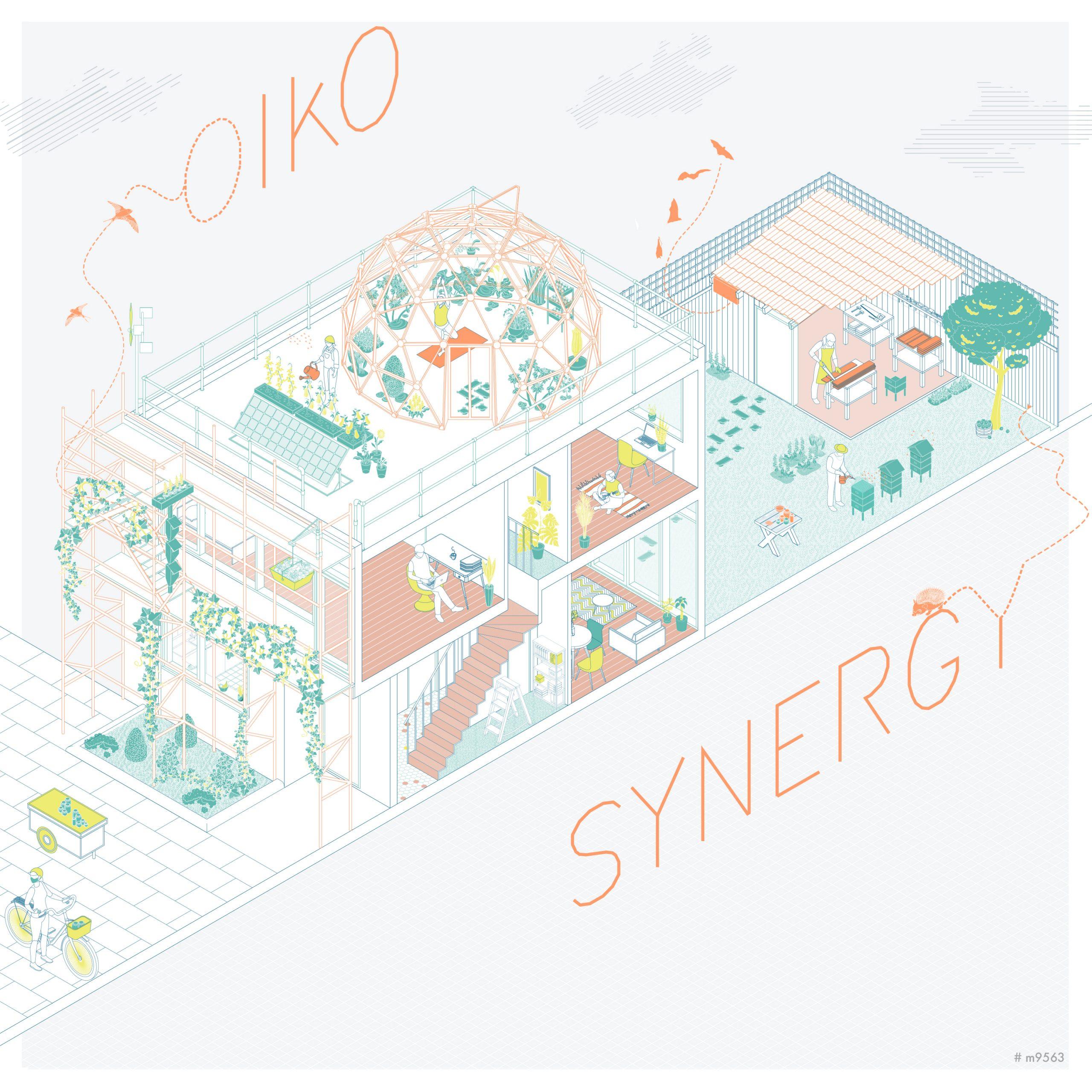 OIKO SYNERGY - by Francesca Rausa & Rallou Grigoropoulou