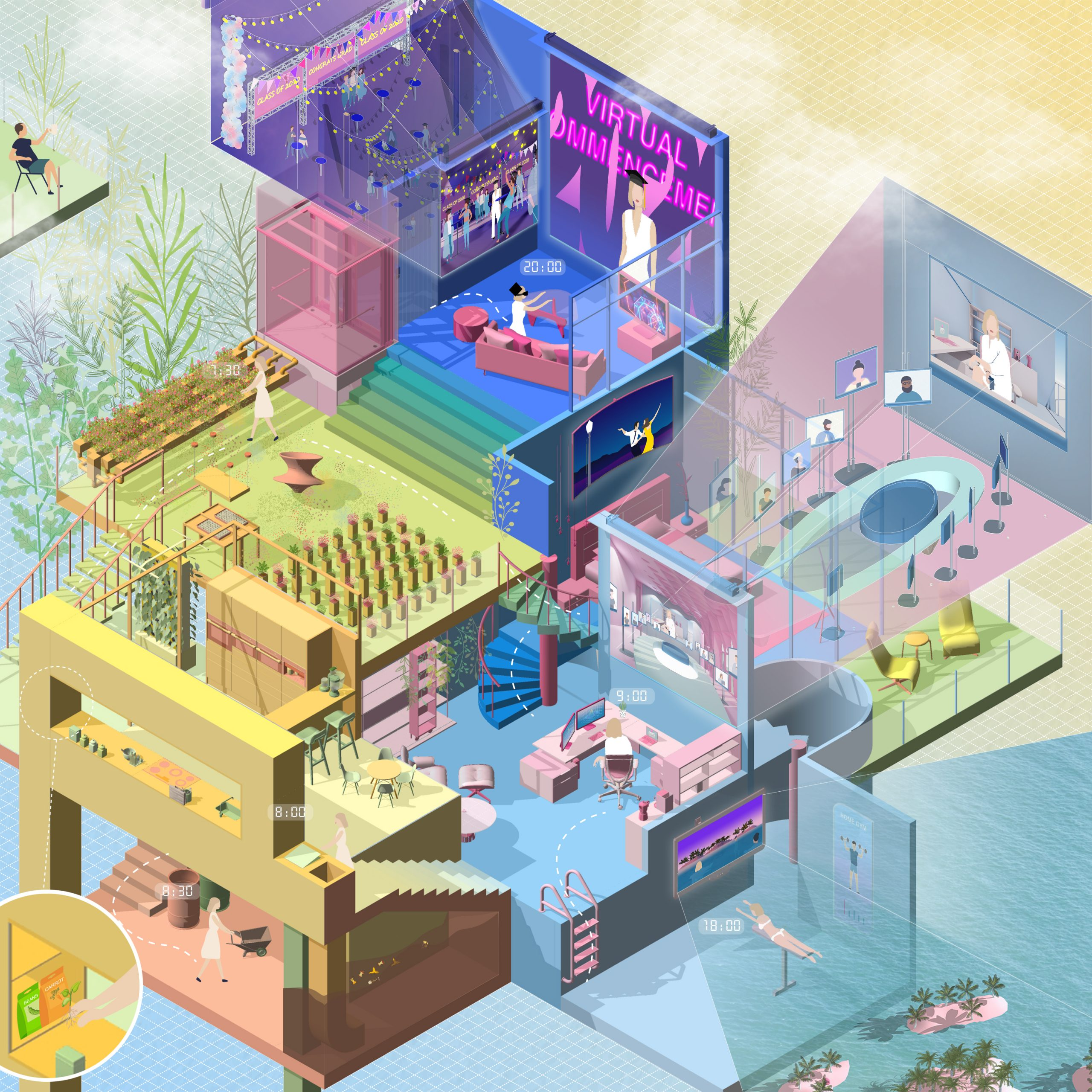 Living in the Manifold - by Yuanyuan Dong & Yue He