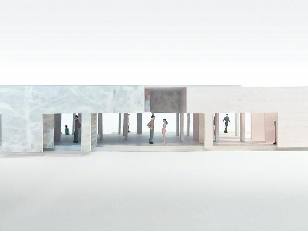 Barcelona Pavilion Model, 2015-2017