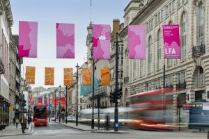 01 London Festival of Architecture 2019 - Flags on Picadilly desihned by RSHP (c) Heart of London